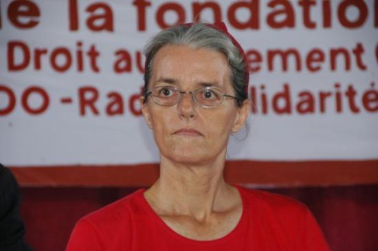 Claire au Forum de Montruis