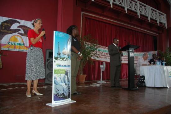 Claire à Montruis: Forum Haïti